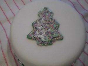 Xmas Tree cake 1