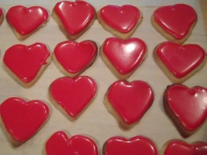Valentine Heart Cookies 5