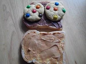 Choc Peanut Cookie Sandwich