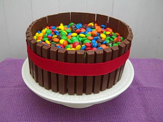Fine Kitkat Mm Birthday Cake Grannys Kitchen Funny Birthday Cards Online Hendilapandamsfinfo