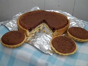 Baked Chocolate Tart